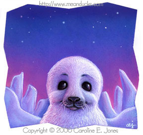 Warmest Wishes Seal Pup