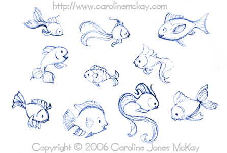 Fishies Sketches